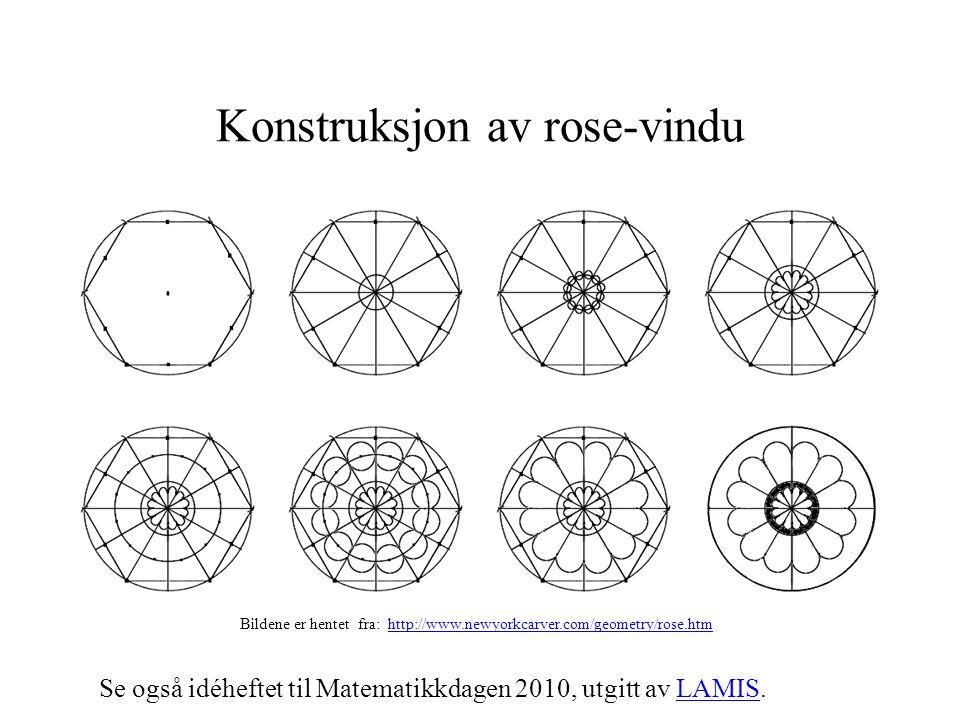 Konstruksjon av rose-vindu