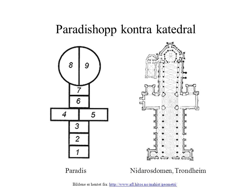 Paradishopp kontra katedral