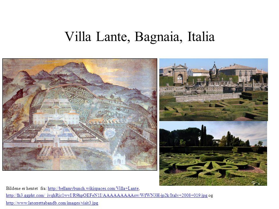 Villa Lante, Bagnaia, Italia