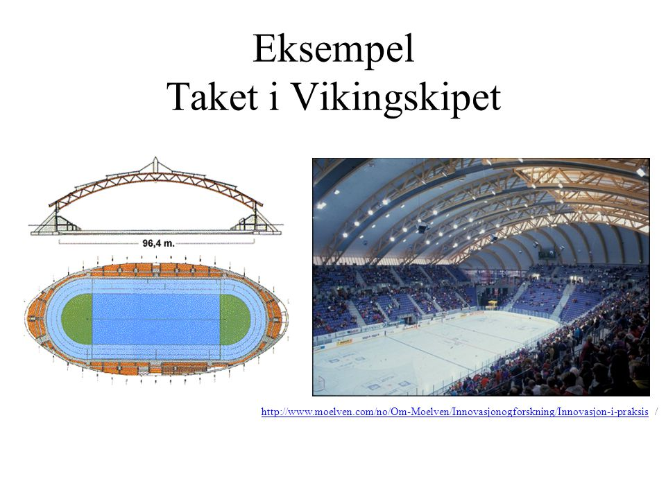 Eksempel Taket i Vikingskipet