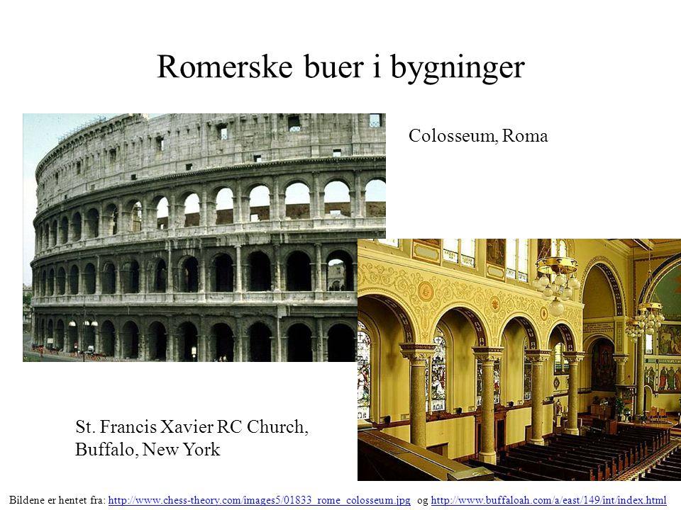 Romerske buer i bygninger