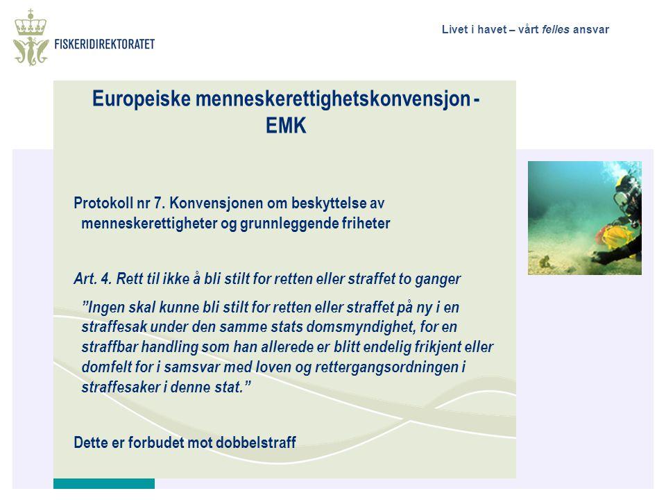Europeiske menneskerettighetskonvensjon - EMK