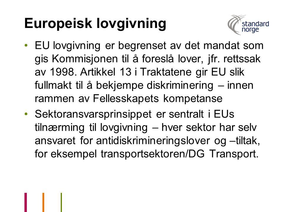 Europeisk lovgivning