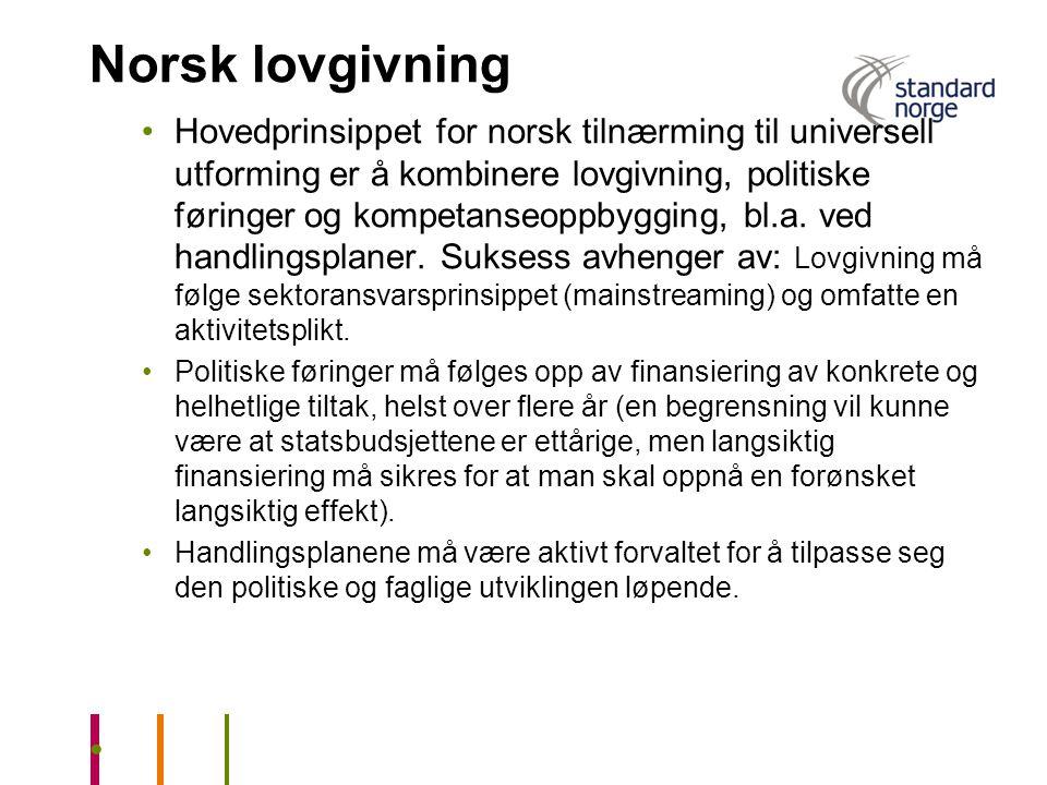 Norsk lovgivning
