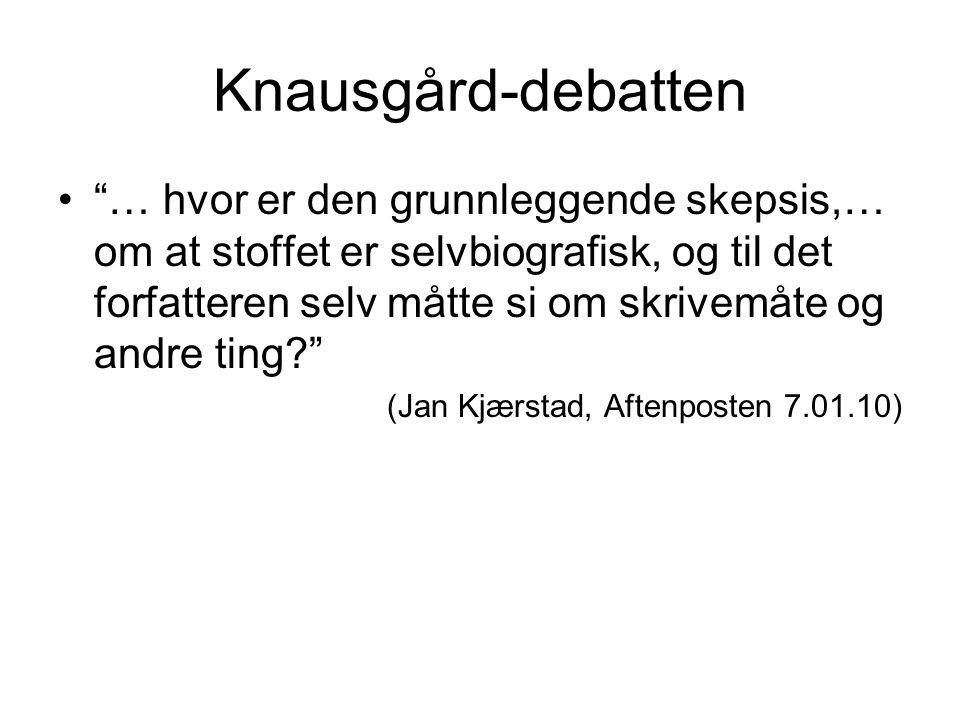 Knausgård-debatten
