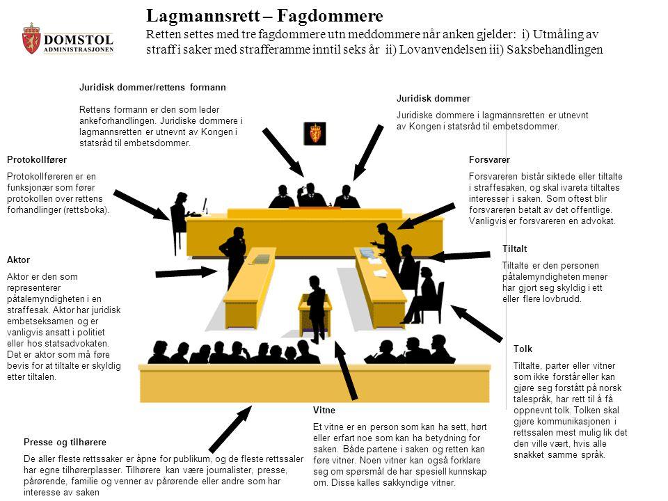 Lagmannsrett – Fagdommere