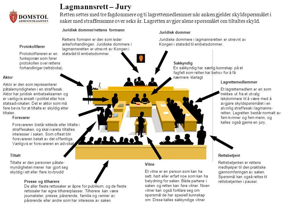 Lagmannsrett – Jury