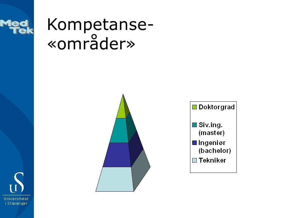 Kompetanse-«områder»