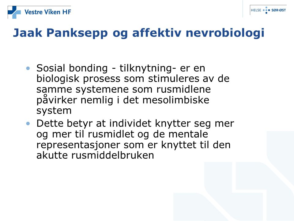 Jaak Panksepp og affektiv nevrobiologi