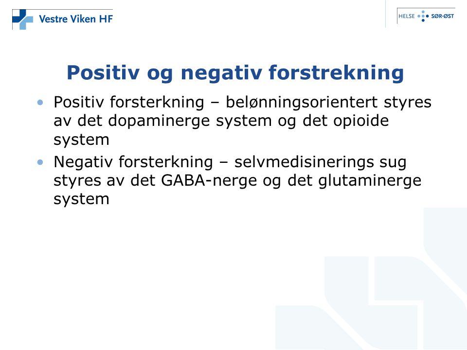 Positiv og negativ forstrekning