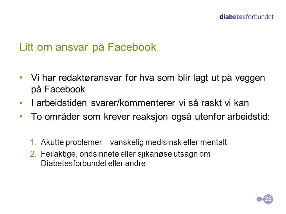 Litt om ansvar på Facebook