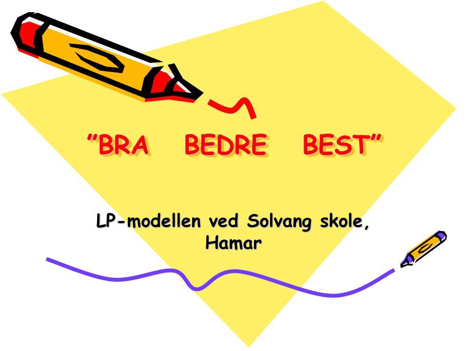 LP-modellen ved Solvang skole, Hamar