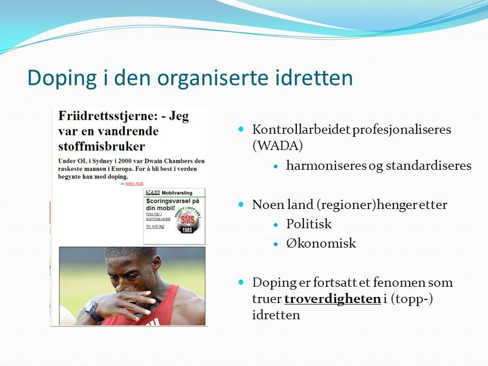 Doping i den organiserte idretten