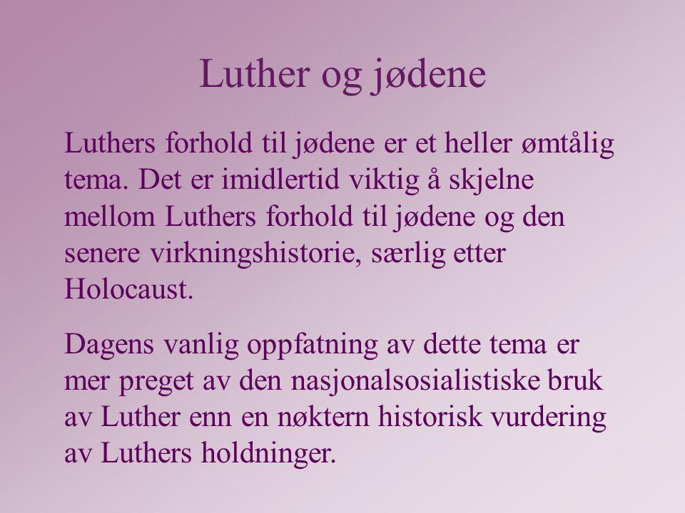 Luther og jødene