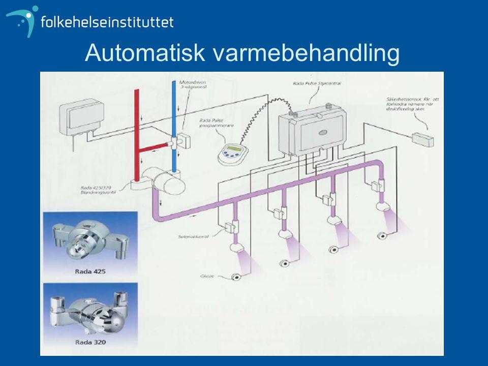 Automatisk varmebehandling