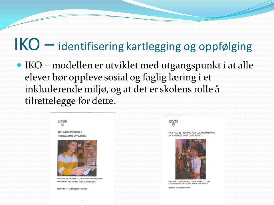 IKO – identifisering kartlegging og oppfølging