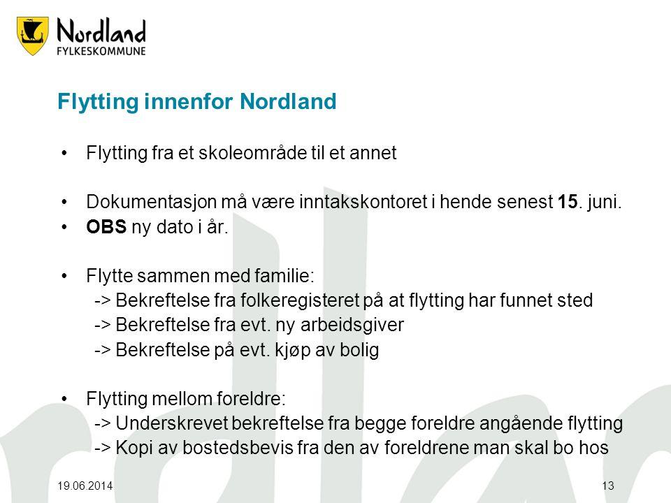 Flytting innenfor Nordland
