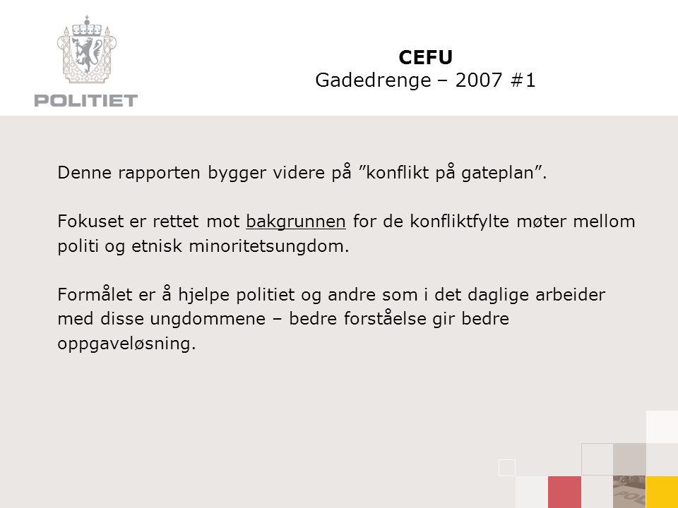 CEFU Gadedrenge – 2007 #1