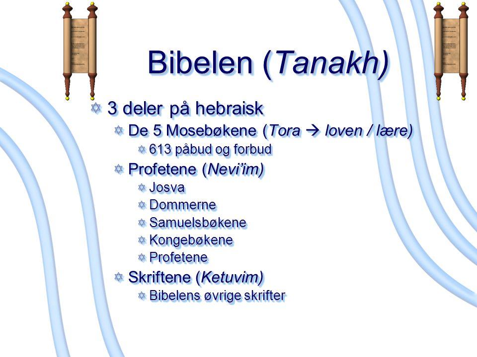 Bibelen (Tanakh) 3 deler på hebraisk
