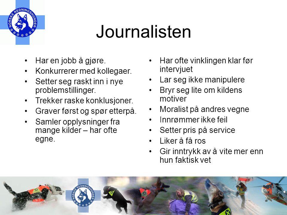 Journalisten Har en jobb å gjøre. Konkurrerer med kollegaer.
