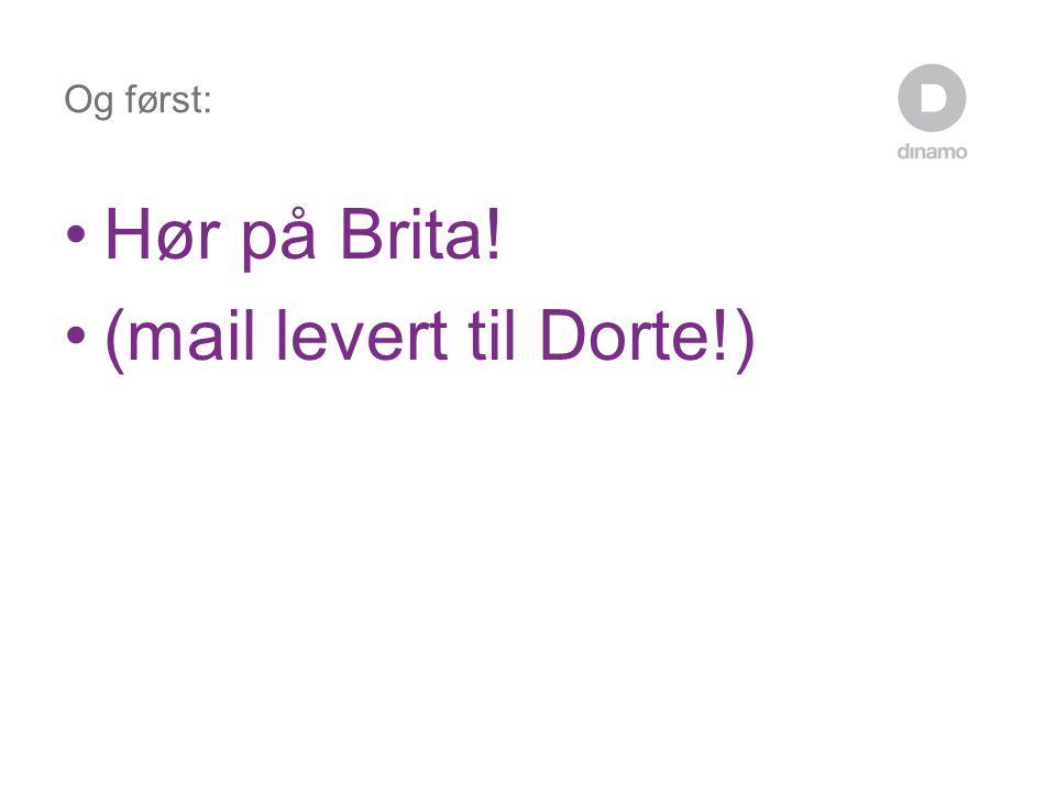 (mail levert til Dorte!)