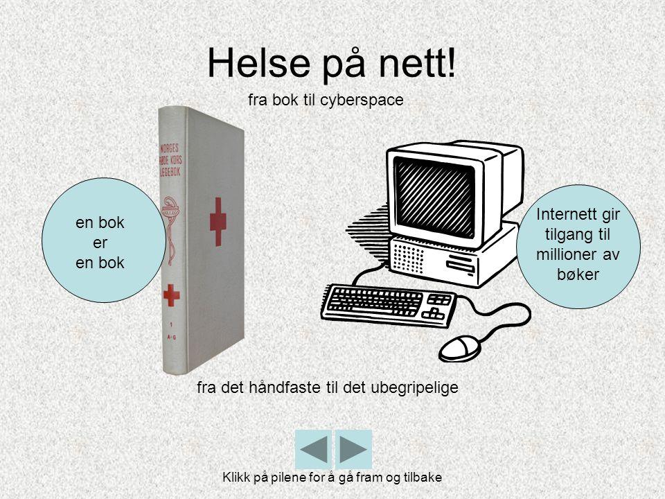 Helse på nett! fra bok til cyberspace