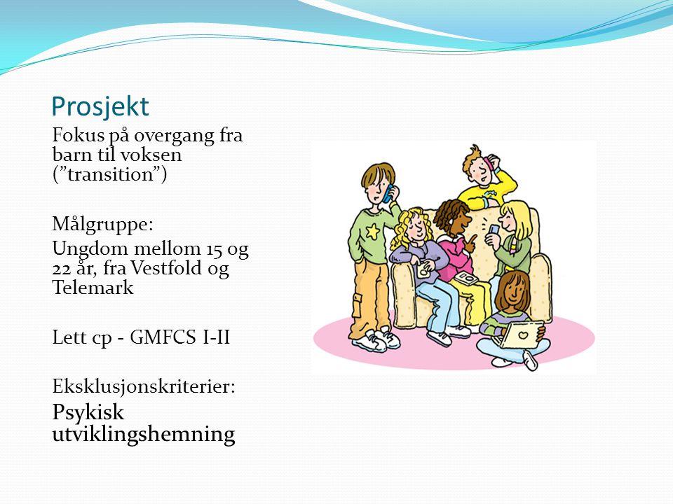 Prosjekt Psykisk utviklingshemning