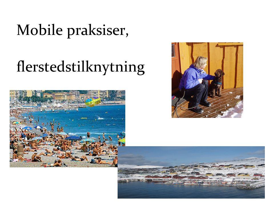 Mobile praksiser, flerstedstilknytning