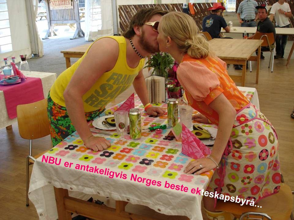 NBU er antakeligvis Norges beste ekteskapsbyrå...