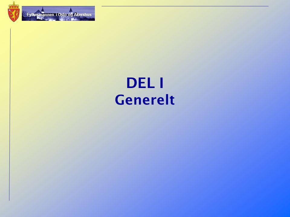 DEL I Generelt