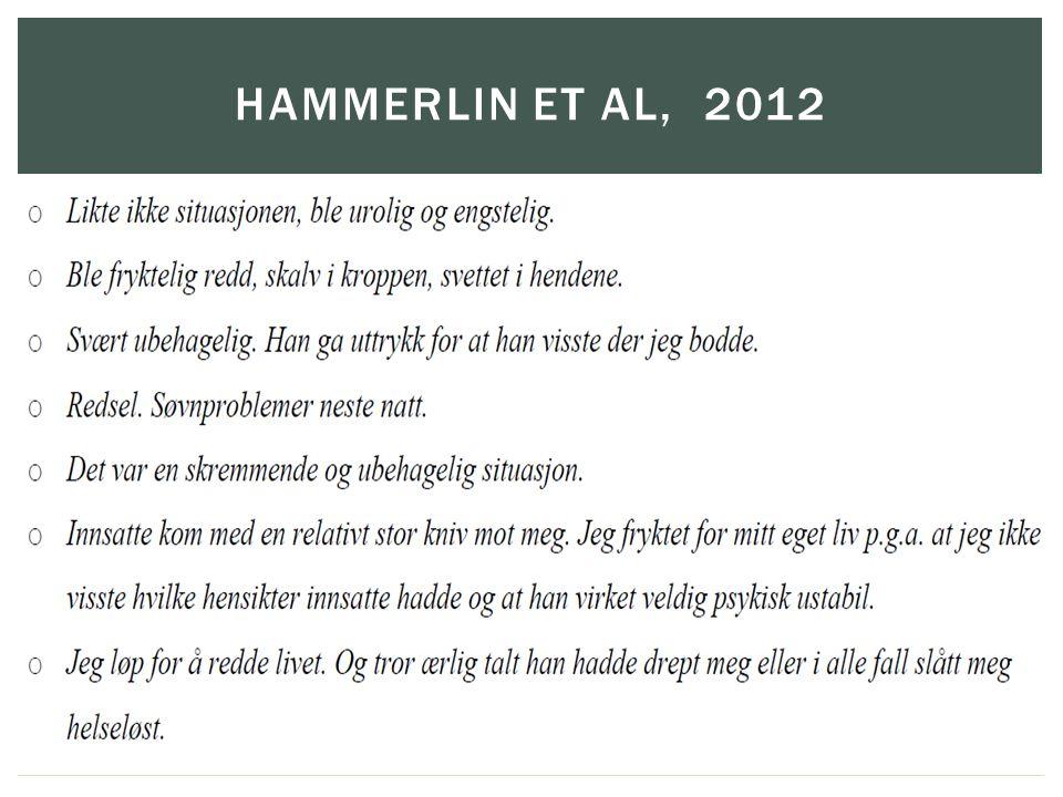 Hammerlin et al, 2012