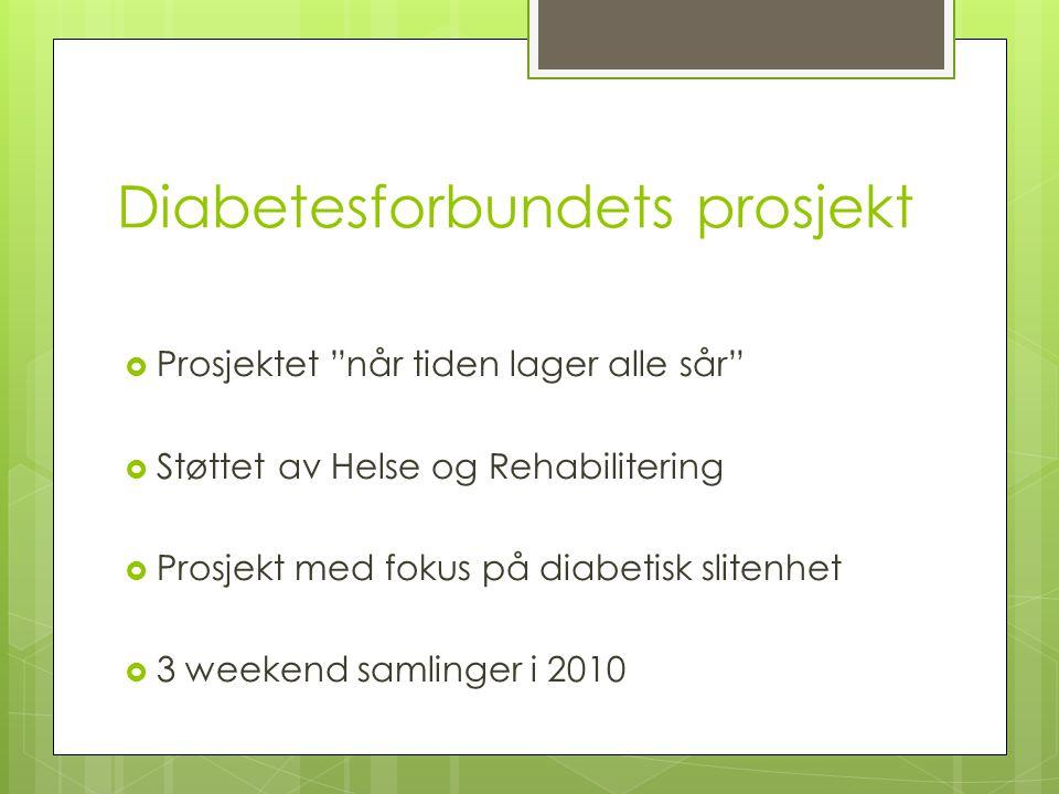 Diabetesforbundets prosjekt