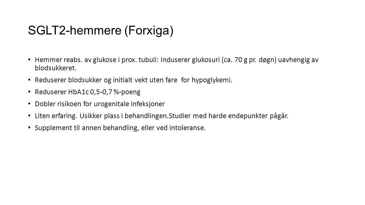 SGLT2-hemmere (Forxiga)