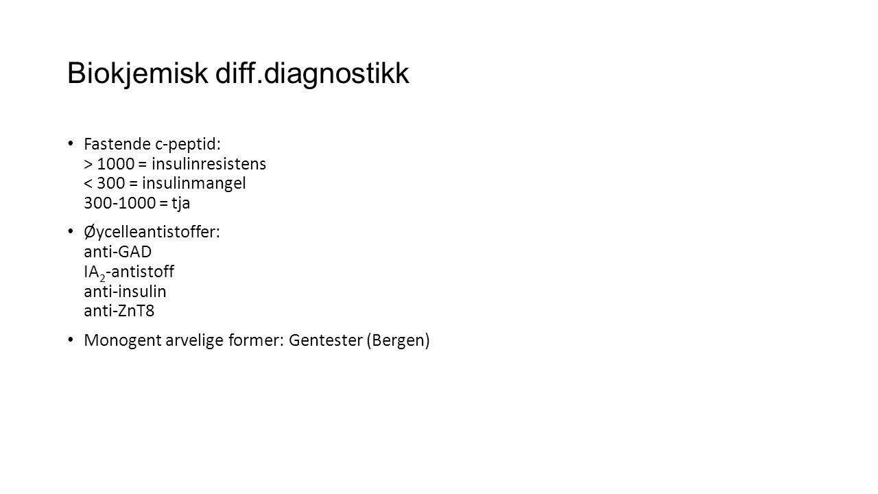 Biokjemisk diff.diagnostikk