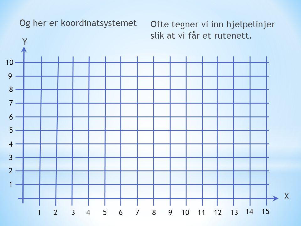 Og her er koordinatsystemet