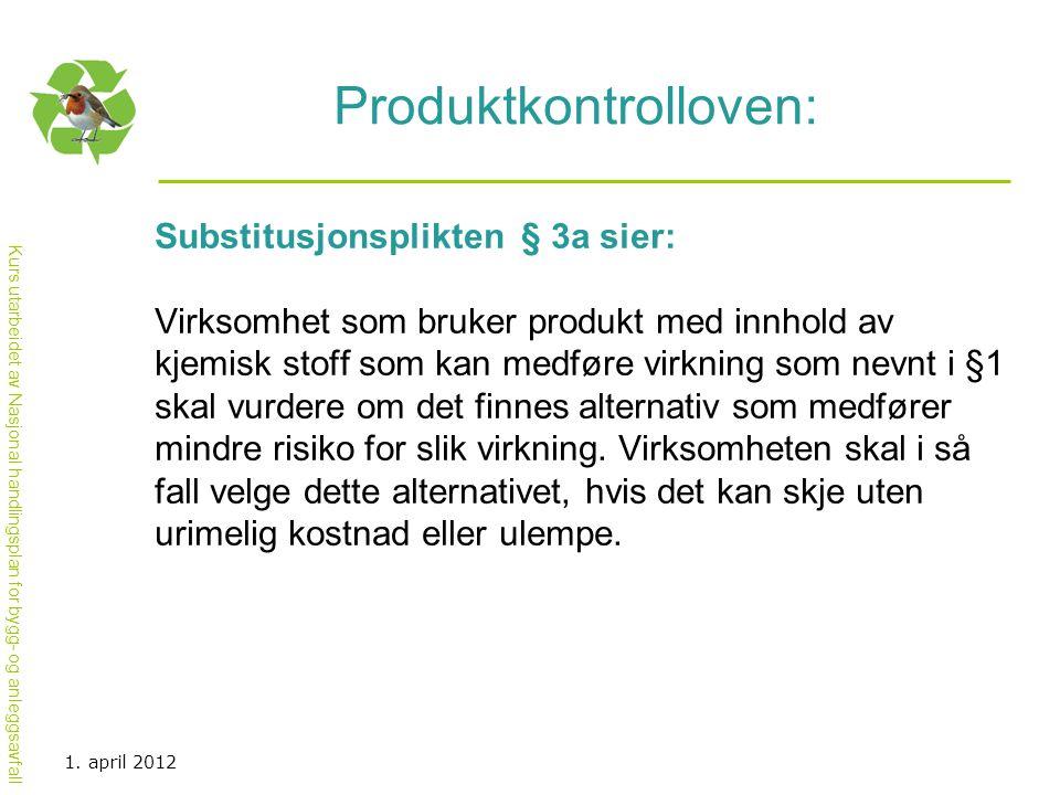 Produktkontrolloven: