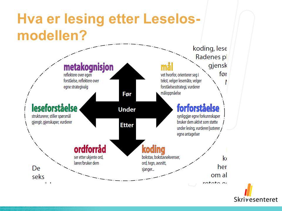 Hva er lesing etter Leselos-modellen