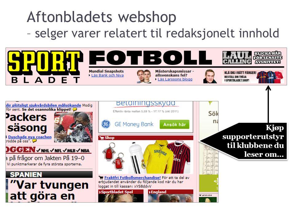 Web-shop – Aftonbladet.se