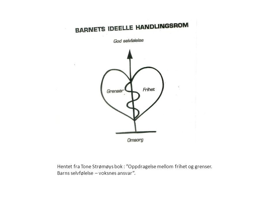 Hentet fra Tone Strømøys bok : Oppdragelse mellom frihet og grenser