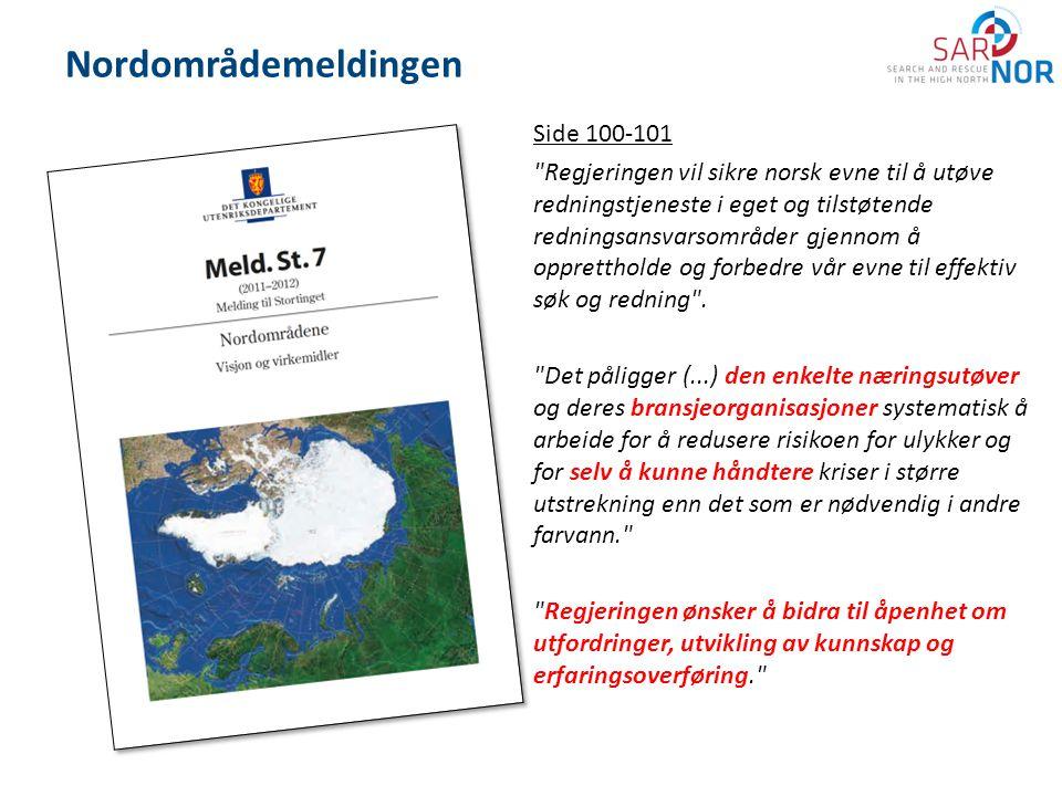 Nordområdemeldingen Side 100-101