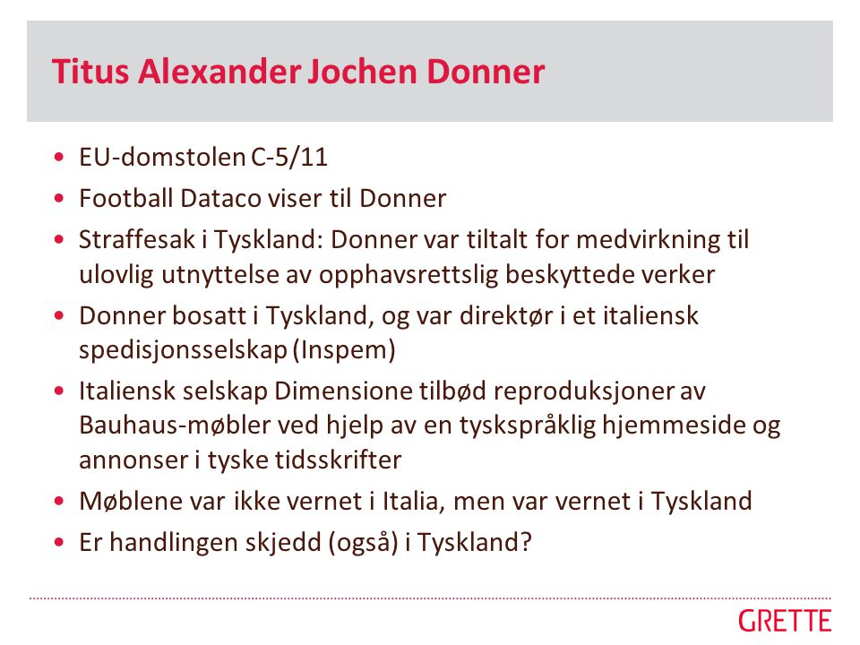 Titus Alexander Jochen Donner