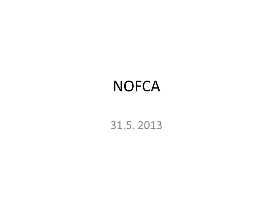 NOFCA 31.5. 2013