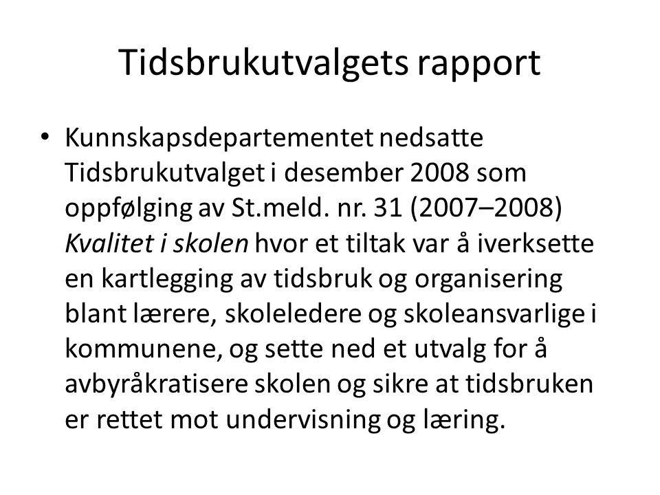Tidsbrukutvalgets rapport
