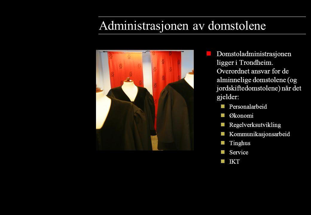 Administrasjonen av domstolene