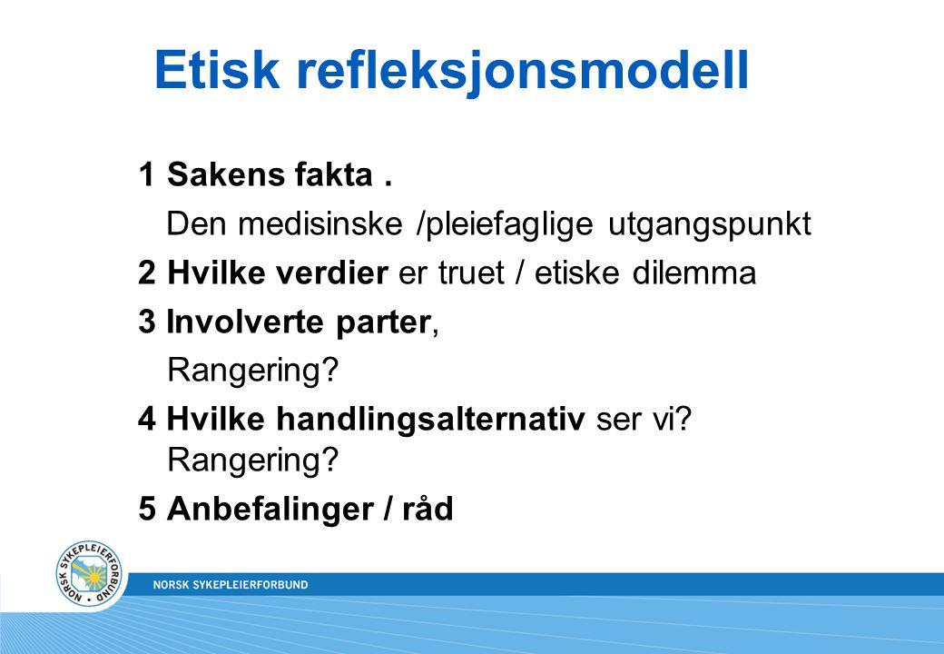 Etisk refleksjonsmodell