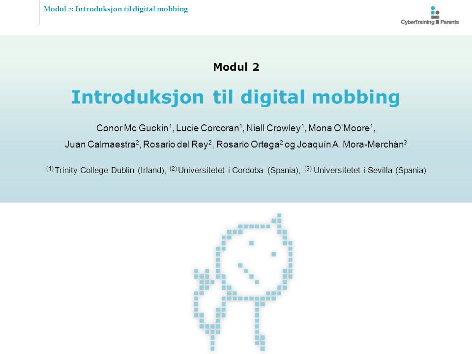 Introduksjon til digital mobbing