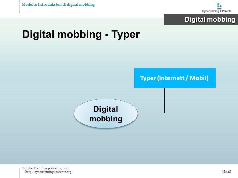 Typer (Internett / Mobil)
