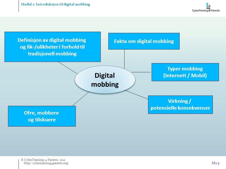 Digital mobbing Definisjon av digital mobbing Fakta om digital mobbing