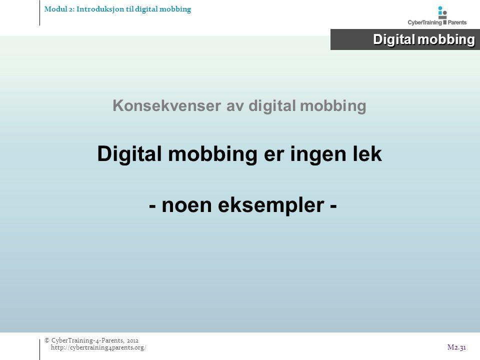 Digital mobbing er ingen lek