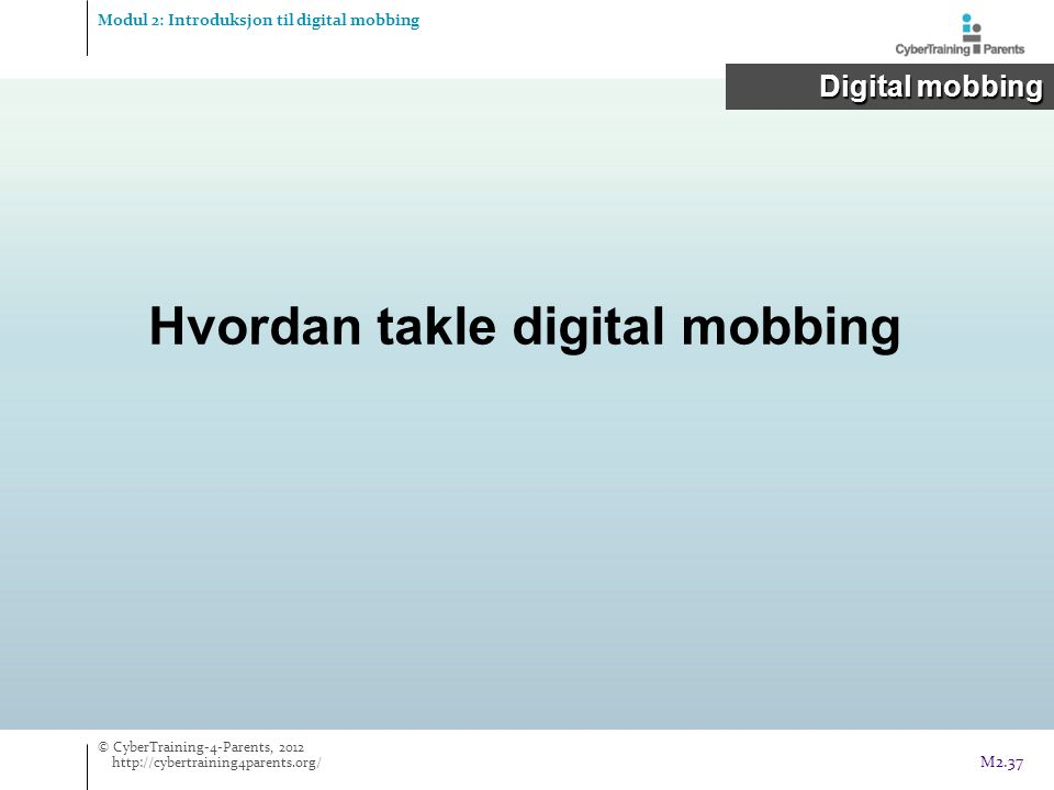 Hvordan takle digital mobbing